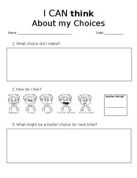 Behavior Think Chart
