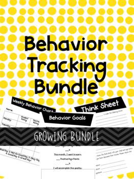 Behavior Tracking Bundle *Growing Bundle*