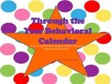 Behavior Through The Year Calendar 2013-14