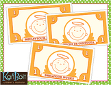 Behavior, Time Bucks and Chore Cards