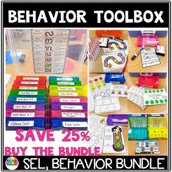 Behavior Tool Box Task Card Bundle Set