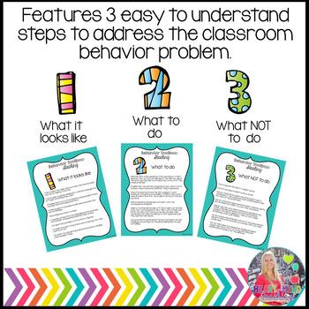 Behavior Intervention Toolbox: DISRESPECTFUL