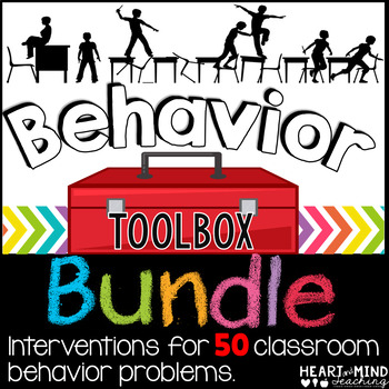 Behavior Intervention Toolbox BUNDLE Classroom Behavior Interventions