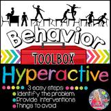 Behavior Toolbox: HYPERACTIVE, Positive RtI SEL ADHD Classroom Interventions