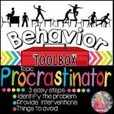 Behavior Intervention Toolbox: PROCRASTINATOR