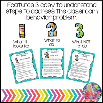 Behavior Toolbox: RUDE, Positive RtI SEL Classroom Interventions;