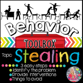 Behavior Intervention Toolbox: STEALING