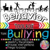 Behavior Intervention Toolbox: BULLYING