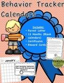 Behavior Tracker Calendars - A Classroom Management Tool