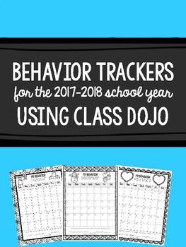 Behavior Trackers Using Class Dojo