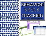 Behavior Trackers for Break Tickets - Set A (Upper Element