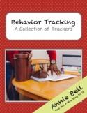 Behavior Tracker - 5 EDITABLE Trackers!