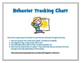 Behavior Tracking Chart