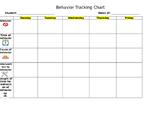 Behavior Tracking Chart