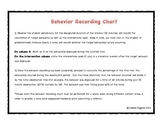 Behavior Tracking Chart (FREE Checklist)