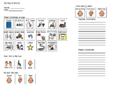 Behavior Tracking Communication Note for Parents