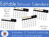 Behavior Tracking Logs | Editable