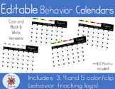 Behavior Tracking Logs | Editable