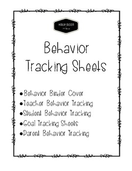 Behavior Tracking Notes