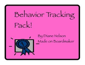 Behavior Tracking Pack!