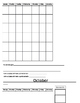 Behavior Tracking for the whole year (editable)