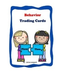 Behavior Trading Cards for Special Ed and General Ed; Beha