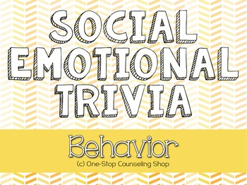 Behavior Trivia Game