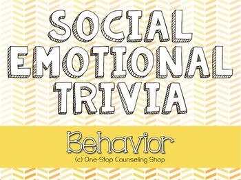 Behavior Trivia Game