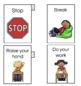 Behavior Visual Cards (FREE)