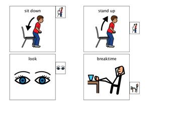 Behavior Visual Cards for Lanyard 2