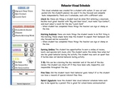 Behavior Visual Schedule, Behavior RTI, Special Education, Autism