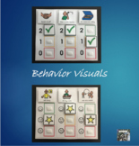 Behavior Visual pairs visual and verbal reminders for desired behaviors