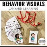 Behavior Visuals for Lanyards