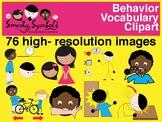 Behavior Vocabulary Clipart