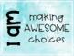 Behavior Watercolor Clipchart for Classroom Management