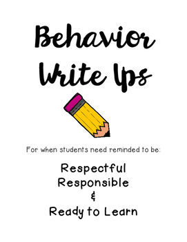 Behavior Write Up