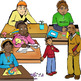 Behavior and Character CommUNITY Clip-Art -24 Pieces BW/Color