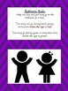 Behavior and Classroom Posters for the Music Classroom-Chevron