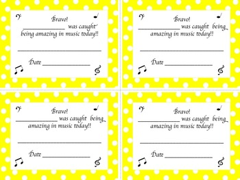 Behavior and Classroom Posters for the Music Classroom-Polka Dot
