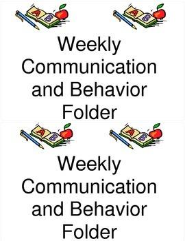 Behavior and Communication Label