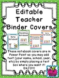 Behavior and Data Notebook Covers- FREE!