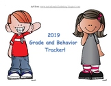 Behavior and Grades Tracker To Send Home Daily