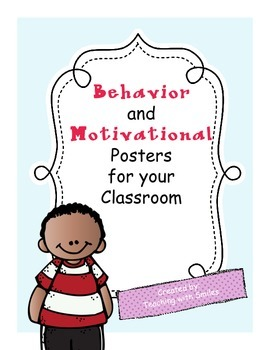 Behavior and Motivational Posters