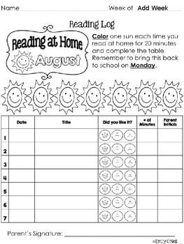 Behavior and Reading Logs (Colorful Chevron & Chalkboard Theme)
