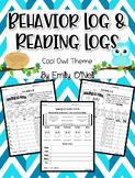 Behavior and Reading Logs (Owl Theme)