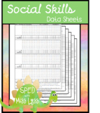 Behavior and Social Skill Data Sheets #spedprep1