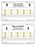Behavior and Work Effort Chart: By Subject/Hourly