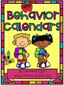 Behavior calendars for the 2018-2019 school year