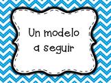 Behavior chart Spanish