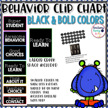 Behavior chart (black plain)